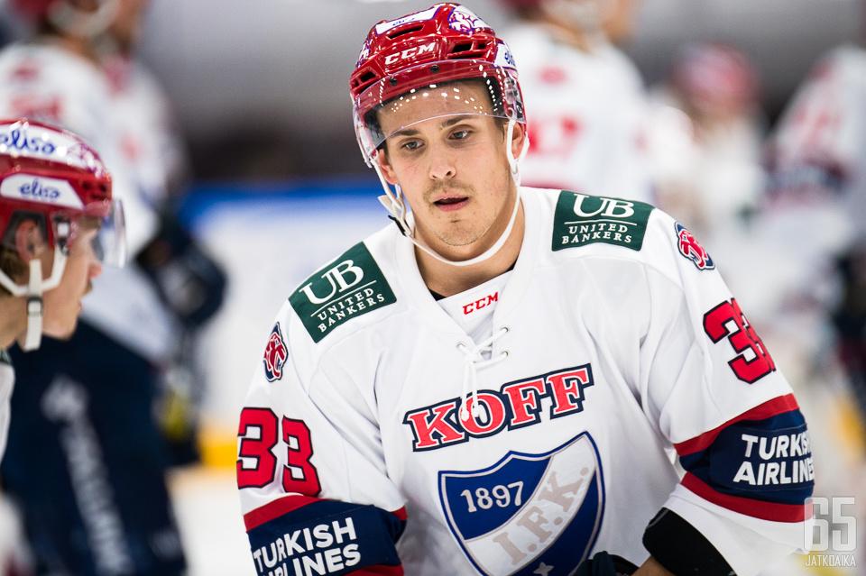Taimi edusti HIFK:ta puolitoista kautta.