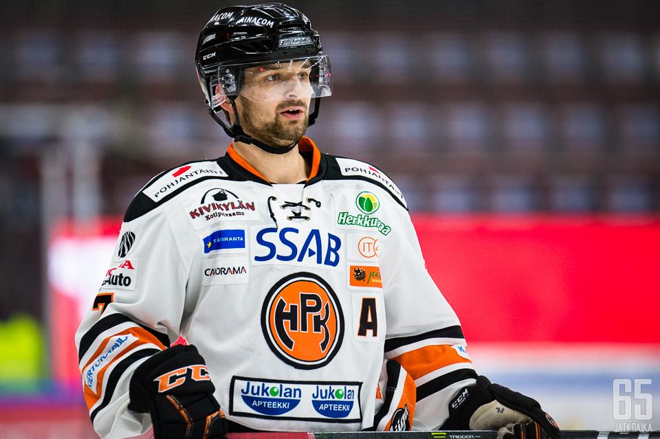 Otto Paajanen iski HPK:n voittomaalin.