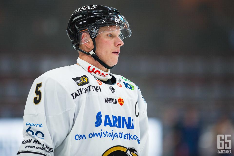 Lasse Kukkonen ei jäänyt murehtimaan tappiota.