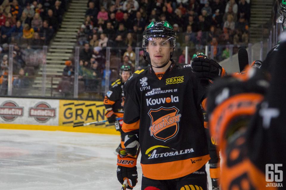 Michael Keränen on ollut maagisessa iskussa.