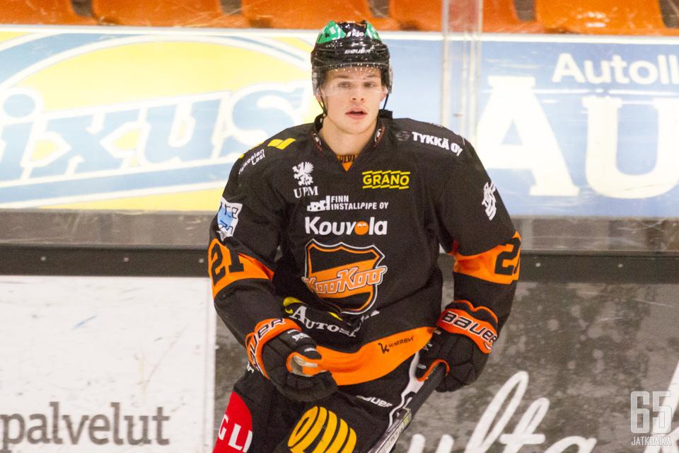 Malte Strömwall tykitti kaksi maalia.