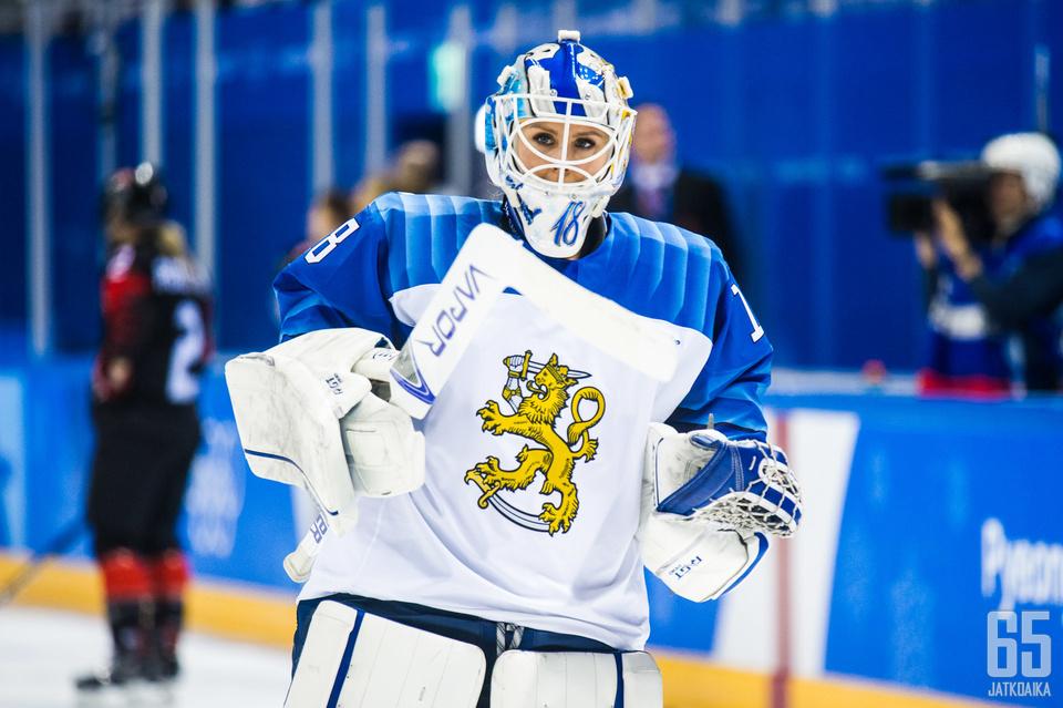Meeri Räisänen sijoittui toiseksi Vuoden jääkiekkopersoona -äänestyksessä.