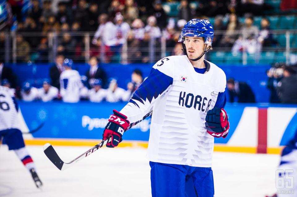 Brock Radunske tuntee kuuluvansa Etelä-Korean joukkueeseen, vaikka onkin syntynyt Kanadassa ja elänyt pitkään Pohjois-Amerikassa.