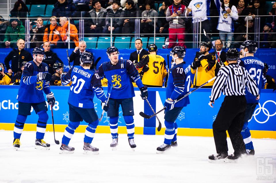 Leijonien ykkösylivoimaviisikko oli tehokas olympiaturnauksessa.