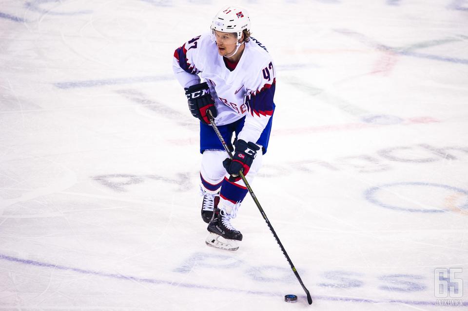 Bonsaksen edusti Norjaa olympialaisissa helmikuussa.