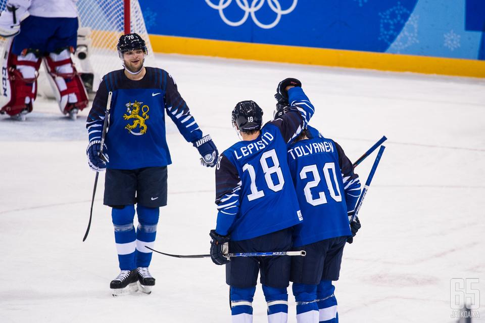 Suomen ylivoimapeli on toiminut mallikkaasti.