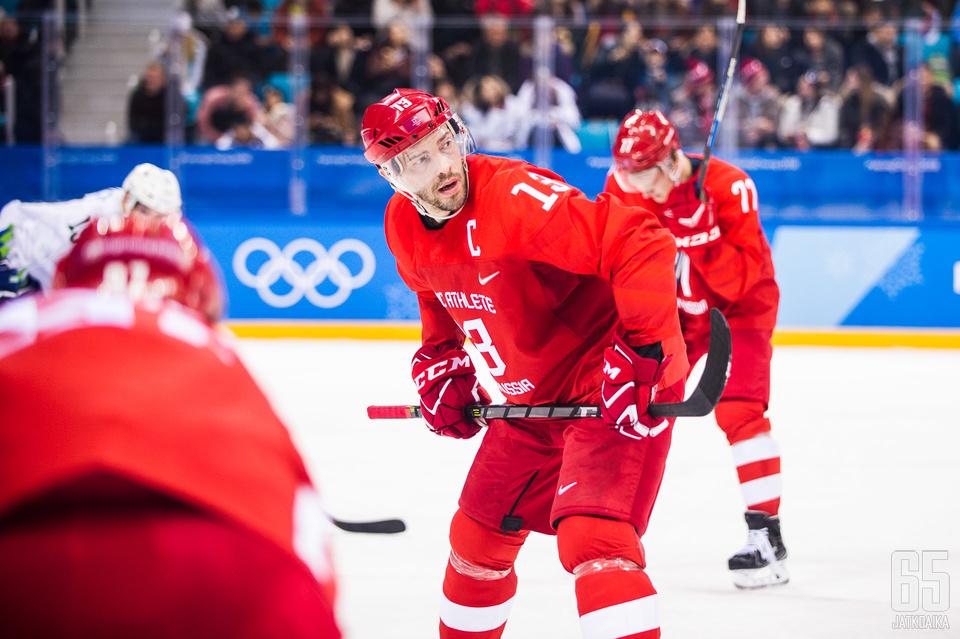 Pavel Datsjukilla on jo Stanley Cup ja MM-kulta, mutta olympiakulta mieheltä puuttuu.