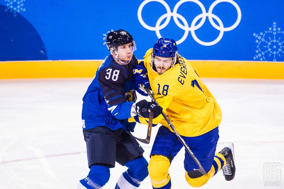 Suomi ja Ruotsi kohtaavat jälleen olympiajäillä.