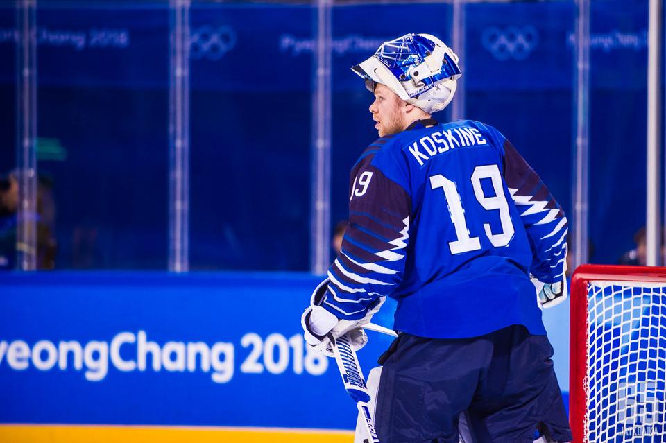 Koskinen edusti Suomea tämän vuoden talviolympialaisissa.