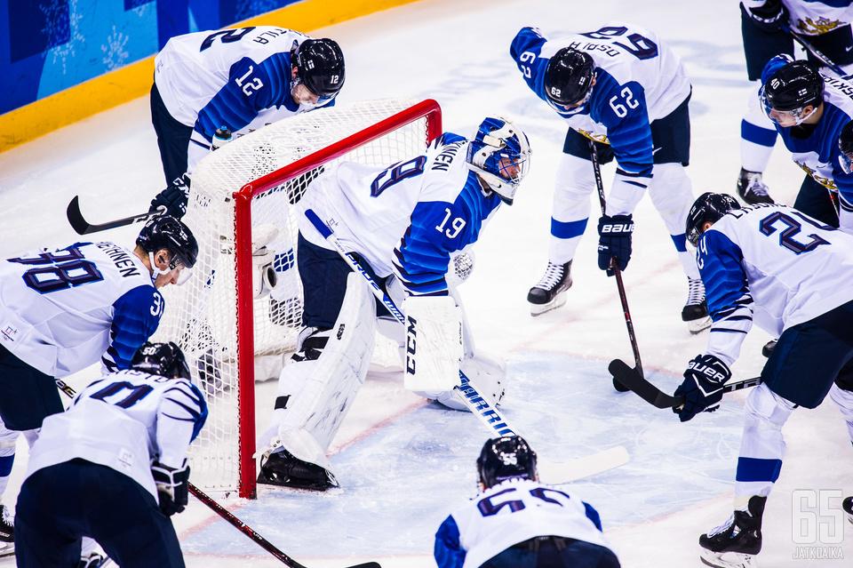Jääkiekko on olympialaji siinä missä muutkin.