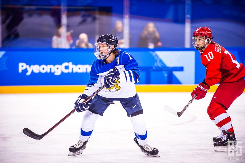 Riikka Välilästä tuli olympiapronssin myötä vanhin suomalainen olympiamitalisti.