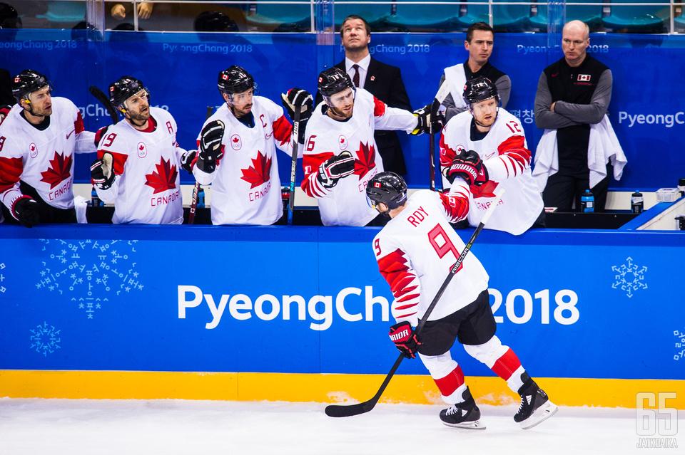 Kanada sai pientä lohdutusta välieräpettymykselleen, kun se kaatoi pronssiottelussa Tšekin