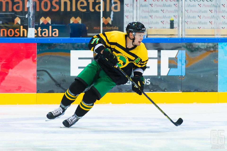 Tapio Laakso oli yksi Ilveksen onnistujista.