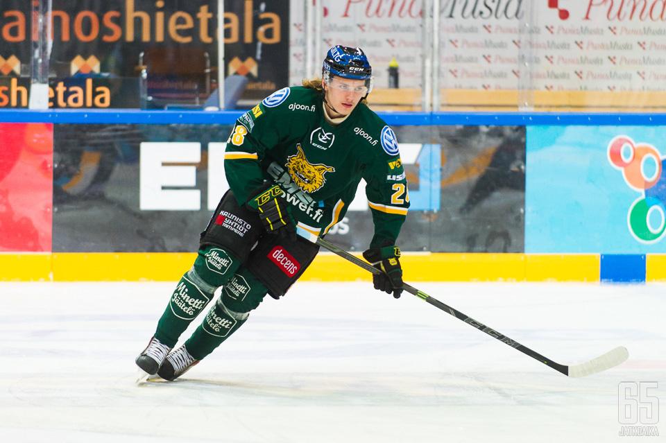 Roope Hintz siirtyy Helsinkiin.