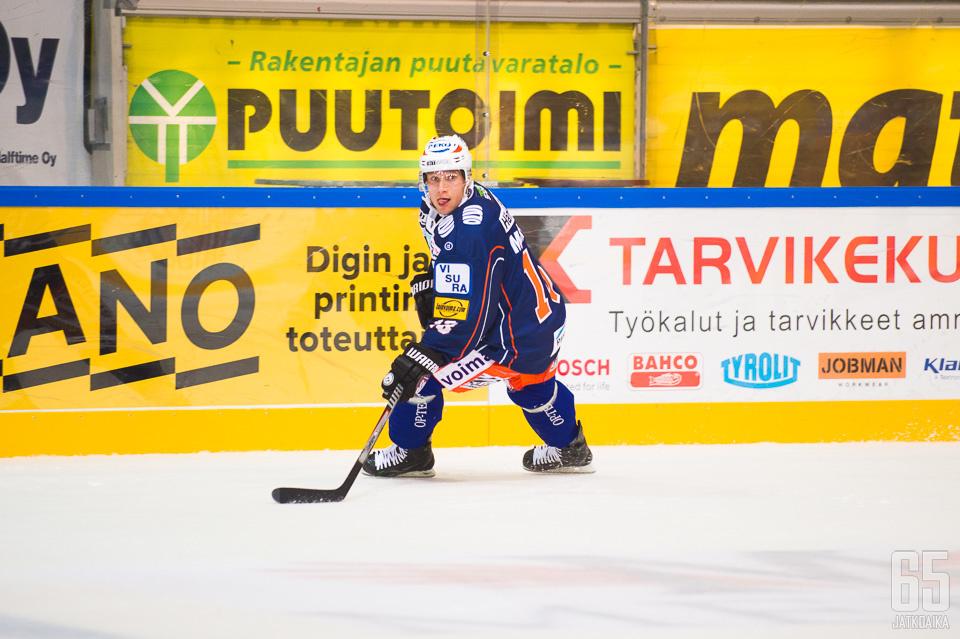 Tuukka Mäntylän uusi seura on Amur Habarovsk.