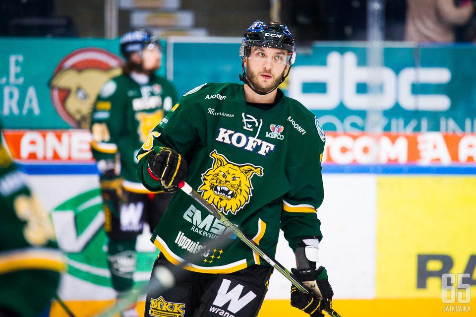 Savilahti pelasi Ilveksessä viimeksi keväällä 2016.