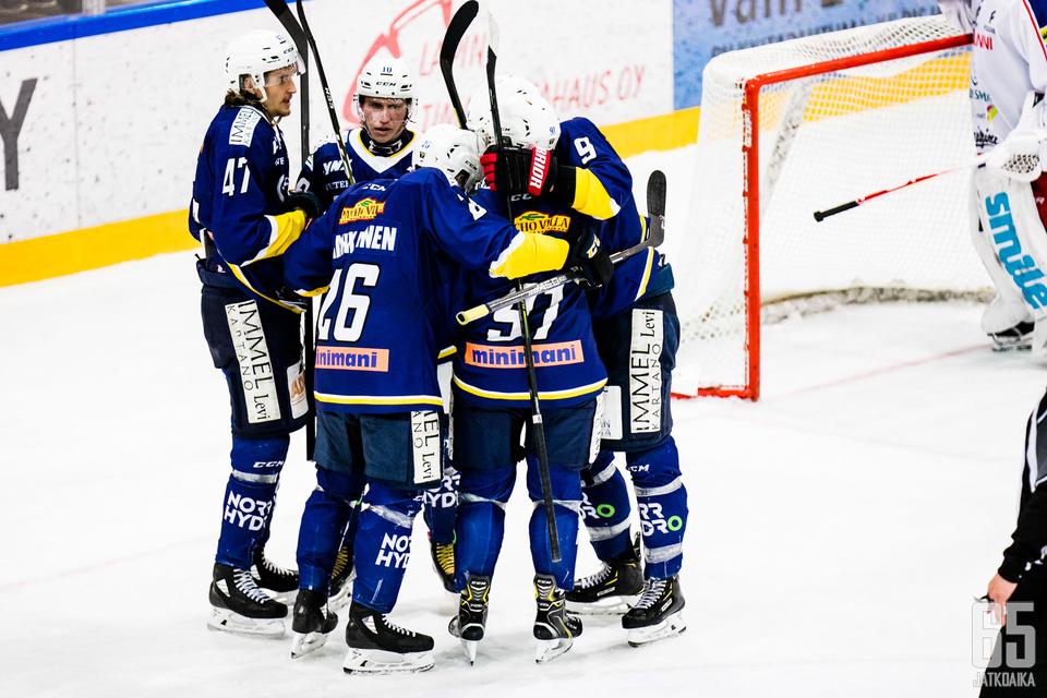 RoKi Hockey Oy:n tulos oli positiivinen.