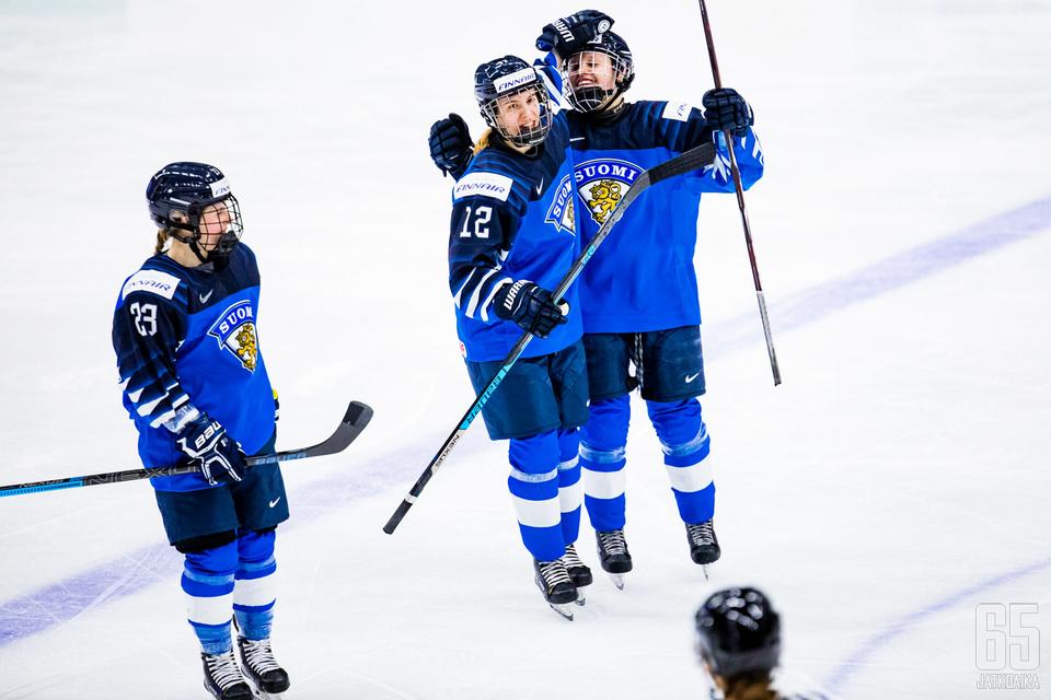 Sanni Hakala (vas.) tekee paluun Suomen kokoonpanoon.