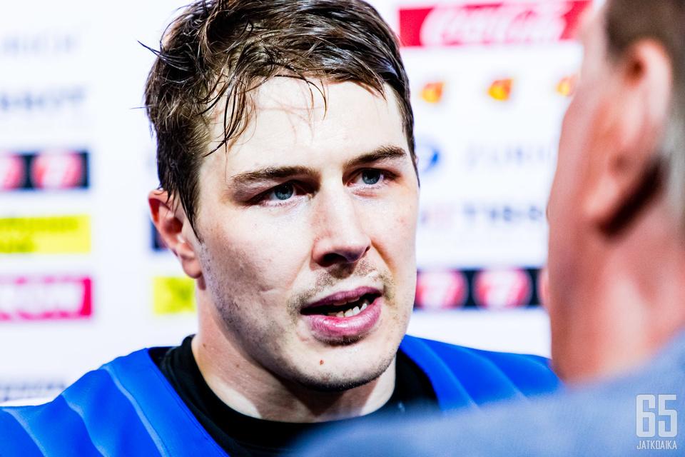 Kristian Kuusela pelasi vakuuttavan ottelun.