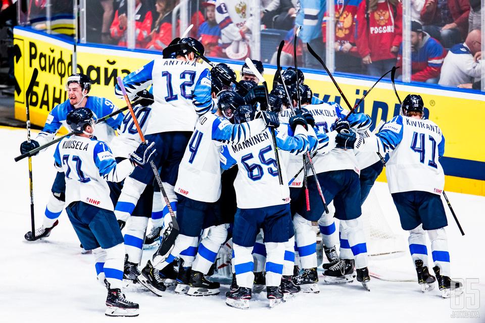 Juhliiko Suomi myös finaaliottelussa?