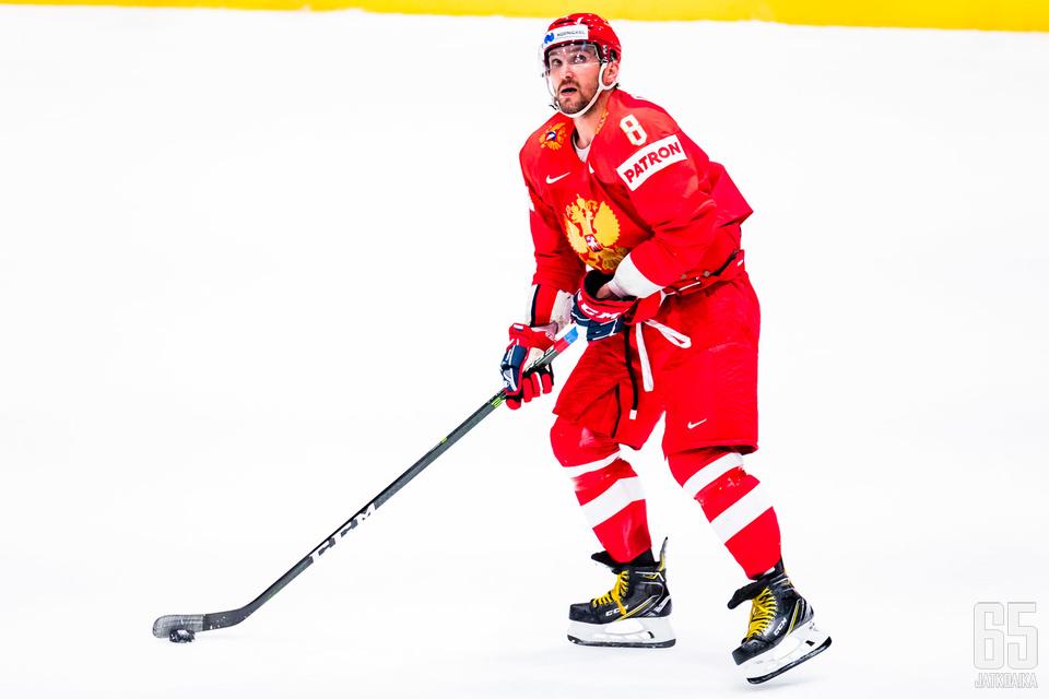 Aleksandr Ovetškin päätti kautensa mitalijuhliin.