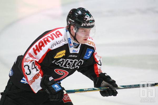 Markus Nenonen pelasi nuoren SM-liigauransa vakuuttavimman ottelun.