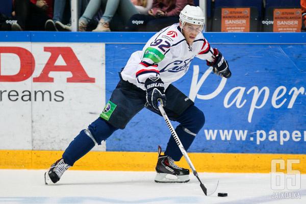 Jonas Enlund palasi tälle kaudelle Sibiriin.