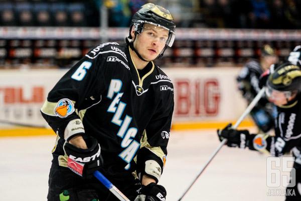 Janne Ritamäki ratkaisi lahtelaisille lauantaina.