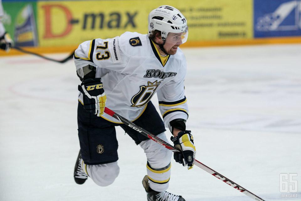 Pitkänen pelasi parin kauden ajan Espoossa.