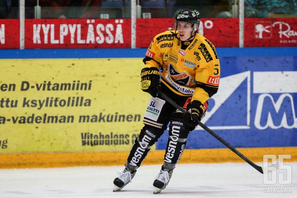 Miika Koivisto teki ottelussa KalPan ainoan maalin.