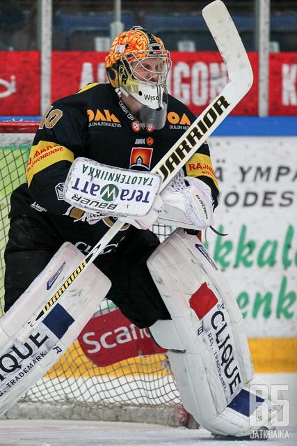 Jussi Rynnäs sai kaikesta huolimatta tälläkin kertaa voiton plakkariinsa kasvattiseuraansa vastaan.