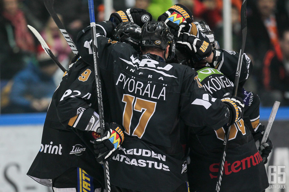 Mika Pyörälä tykitti Kärpät viiden vuoden tauon jälkeen finaaleihin.