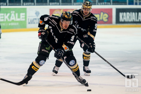 Juha Leimu pelaa Lahdessa toista kauttaan.