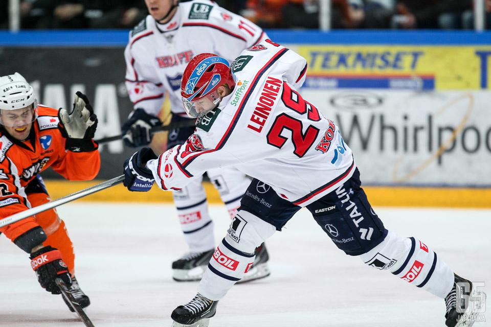 Leinonen pelasi viime kaudella muun muassa HIFK:ssa.