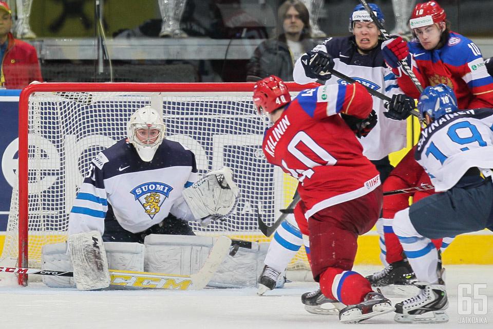Sergei Kalinin on edustanut Venäjää yksissä MM-kisoissa.
