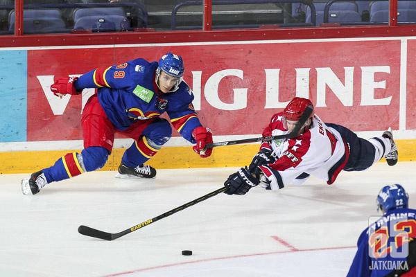Eklund puolustaa seuraavaksi Brynäsin riveissä.
