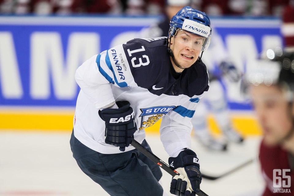 Wirtanen on puolestaan sivussa Valko-Venäjä-ottelusta ylävartalovamman vuoksi.