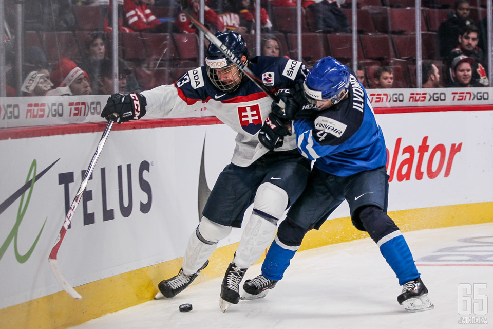 Suomi ja Slovakia kohtaavat myös ensi vuoden nuorten MM-kisojen alkulohkovaiheessa.