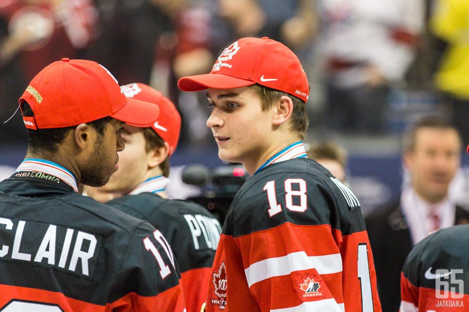 Jake Virtanen oli näiden kisojen ainoa suomalaispassinen kultamitalisti.
