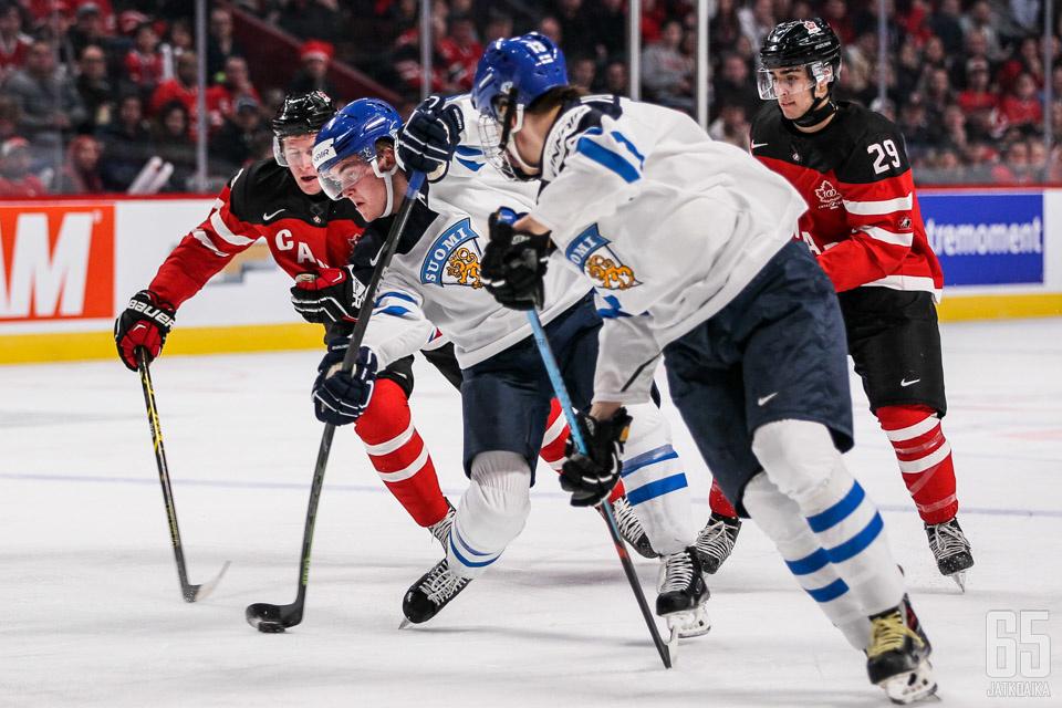 Suomi Kanada U20