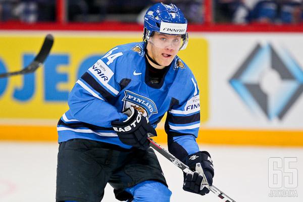 Mikael Granlund jatkaa kauttaan maajoukkuepaidassa.