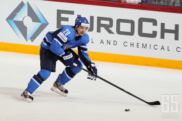 Janne Pesonen on tuttu näky leijonapaidassa.