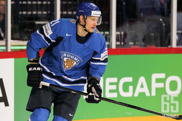 Melart edusti Suomea viime kevään MM-kisoissa.