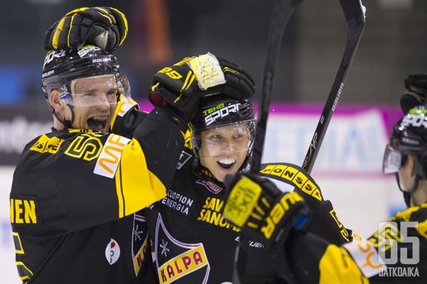 Lyytinen jatkaa kaksi seuraavaa kautta kuopiolaisjoukkueessa.