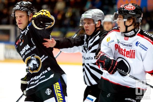 Kärpät ja Ässät iskevät yhteen neljättä kertaa tällä kaudella.