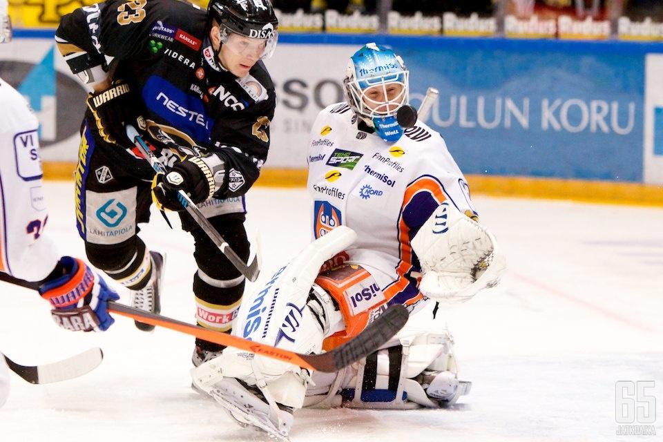Juha Metsola oli mies paikallaan.