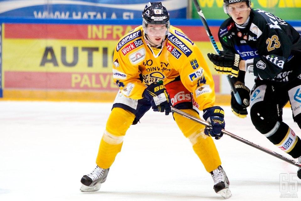 Nikko on pelannut tällä kaudella vain yhden Liiga-ottelun.