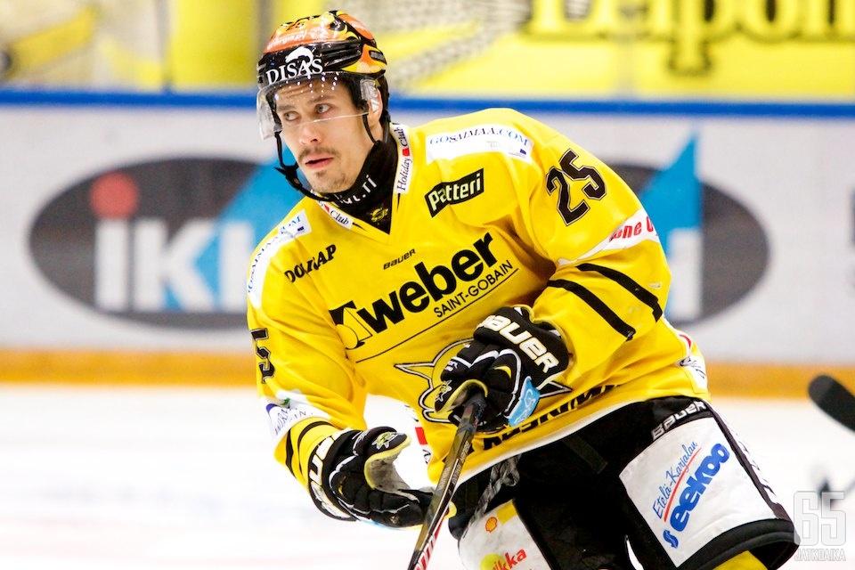 Sami Venäläinen jatkaa SaiPan keltamustissa tulevalla kaudella.