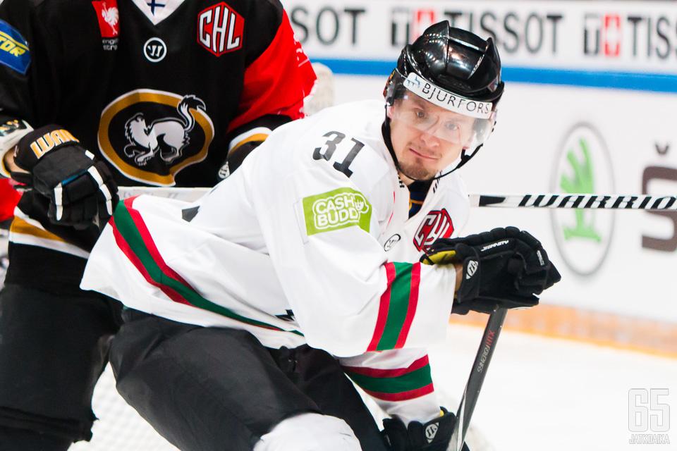 Nicklas Lasu nousi Frölundan jatkoaikasankariksi.