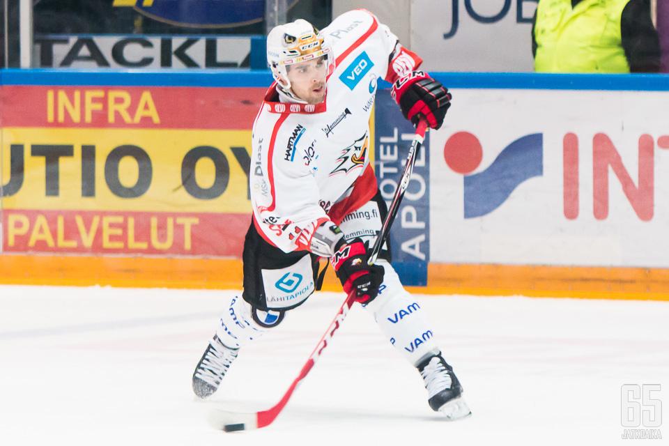 Sportissa lopettanut Fleury siirtyy Ruotsiin.